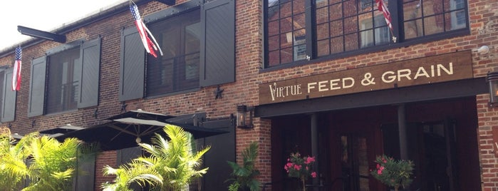 Virtue Feed & Grain is one of DC Brunch Spots.