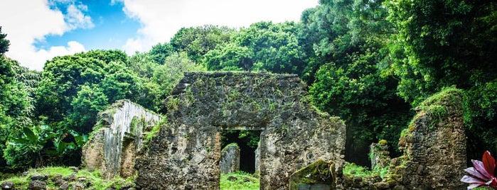 Kaniakapupu is one of Honolulu.