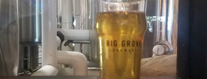 Big Grove Brewery & Taproom is one of Find the Source.
