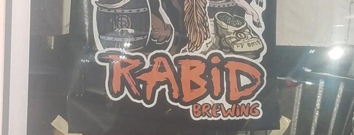 Rabid Brewing is one of Orte, die Rudimus gefallen.