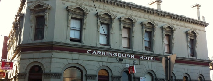 Carringbush Hotel is one of Melbourne.