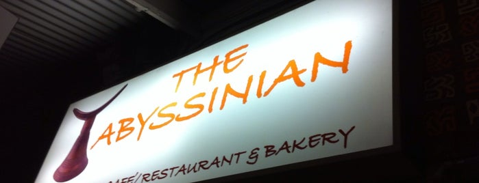 The Abyssinian is one of Restaurants.