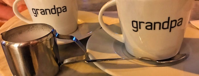Grandpa Coffee & Eatery is one of Istanbul spots.