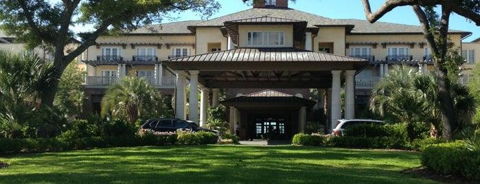 The Sanctuary at Kiawah Island is one of Condé Nast Traveler Platinum Circle 2013.