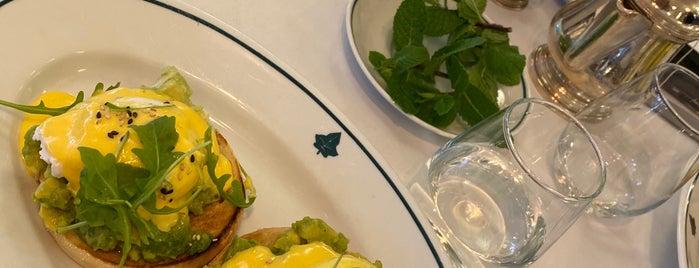 The Ivy Kensington Brasserie is one of London.