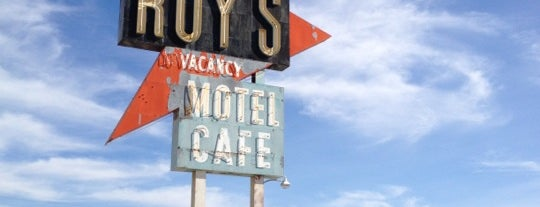 Roy's Hotel and Cafe is one of Route 66 Roadtrip.