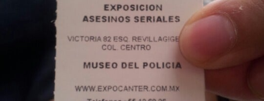 Exposición Asesinos Seriales is one of Bieykaさんの保存済みスポット.