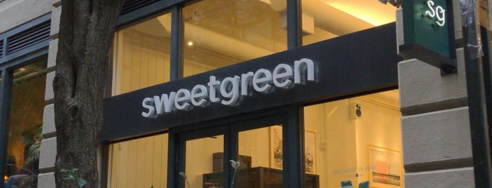 sweetgreen is one of P + A ✈️ NYC.