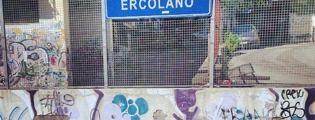 Stazione di Ercolano Scavi is one of Roma-Nápoles-Procida.