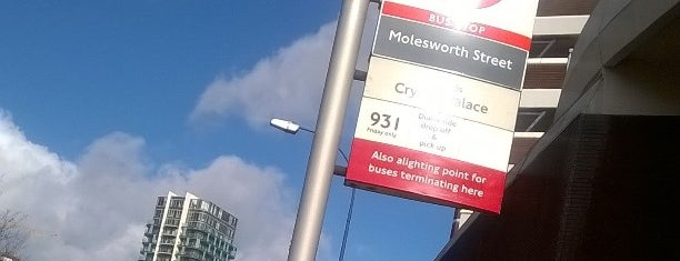 Molesworth Street Bus Stop is one of Britain.