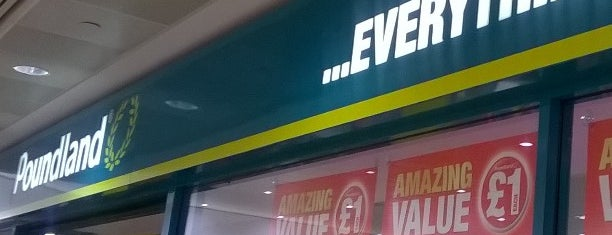 Poundland is one of Britain.