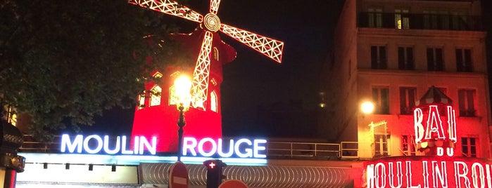Moulin Rouge is one of Lieux qui ont plu à Nora.