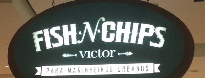 Victor Fish 'n' Chips is one of Lugares favoritos de Káren.