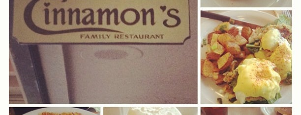 Cinnamon's Restaurant is one of Hawaii.