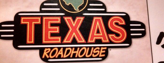 Texas Roadhouse is one of สถานที่ที่บันทึกไว้ของ Eric.