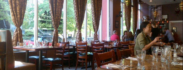 Petra Mediterranean Bistro is one of 100 Places To Eat & Drink in Belltown (Seattle).