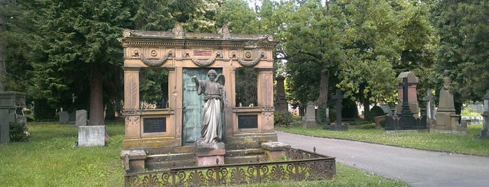 Pragfriedhof is one of Stuttgart.