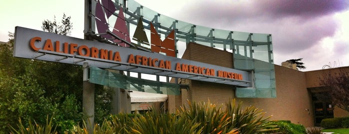 California African American Museum is one of Los Angeles.