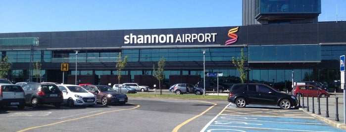 Shannon International Airport is one of Part 1~International Airports....