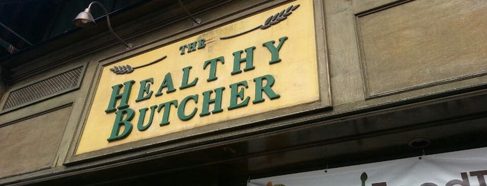 The Healthy Butcher is one of Specialty Food & Drink Shops in Toronto.