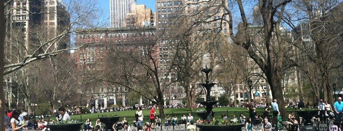 Madison Square Park is one of long walks - NY airbnb.