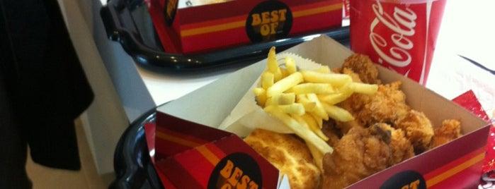 KFC is one of Tempat yang Disukai Elena.
