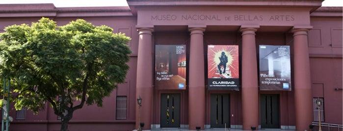 Museo Nacional de Bellas Artes is one of buenos aires.