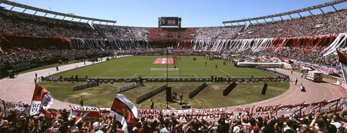 "Estadio Antonio Vespucio Liberti ""Monumental"" (Club Atlético River Plate) is one of Deportes en Buenos Aires."