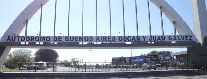 """Autódromo de Buenos Aires """"Oscar y Juan Gálvez"""" is one of Deportes en Buenos Aires."""