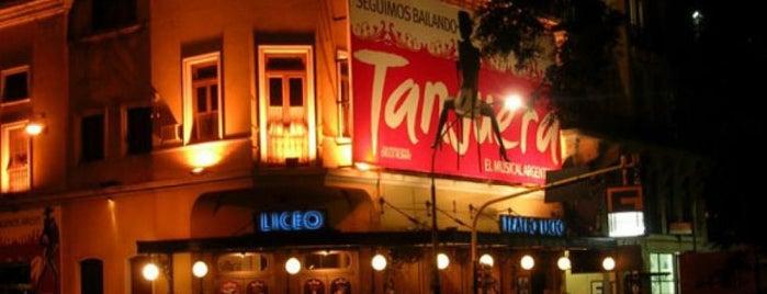Teatro Liceo is one of Teatros de Buenos Aires.