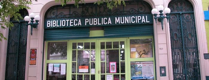 Biblioteca Miguel Cané is one of Repetecos e ideias BsAs.