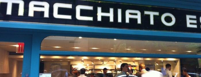Macchiato Espresso Bar is one of NY Espresso.