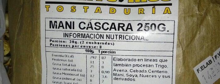 Tostaduria Puerto Rico is one of Comercio.