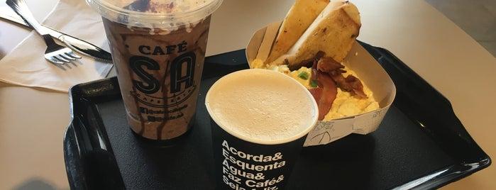 Café S/A is one of Locais curtidos por Clau.
