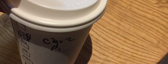 Starbucks is one of Orte, die Ekrem gefallen.