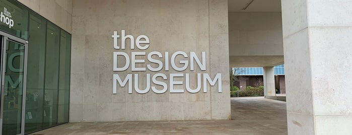 The Design Museum is one of Lugares guardados de Karen 🌻🐌🧡.