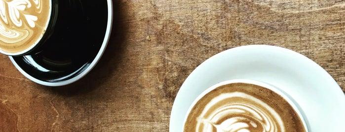 Frisson Espresso is one of Tempat yang Disukai James.