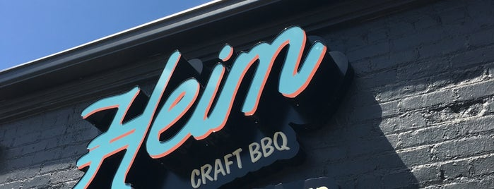 Heim Barbecue & Catering is one of Texas Monthly's Top 50 BBQ Joints in Texas.