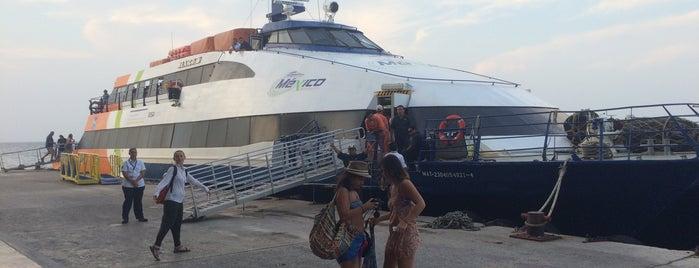 Ferry Terminal Mexico Waterjets is one of Fin en Cozumel.