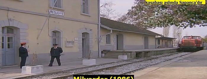 Sapanca Tren İstasyonu is one of Türk Filmlerinin Çekildiği Mekanlar.