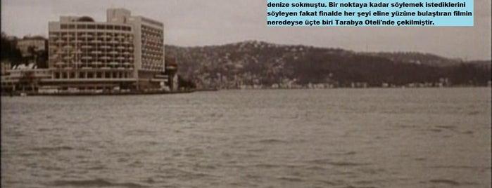 The Grand Tarabya is one of Türk Filmlerinin Çekildiği Mekanlar.