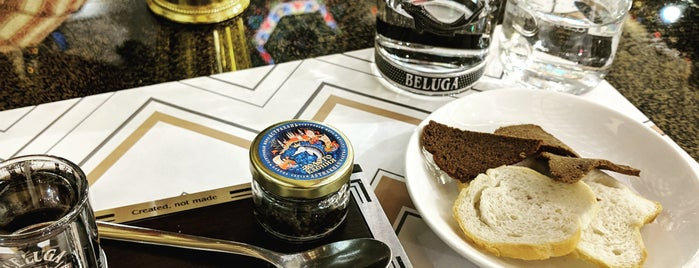 Beluga Caviar Bar is one of Lieux qui ont plu à Aydın.