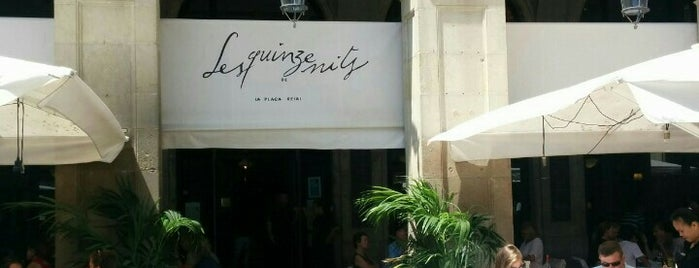 Les Quinze Nits is one of Barcelona centre.