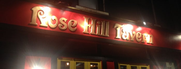 Rose Hill Tavern is one of Neighborhood haunts.