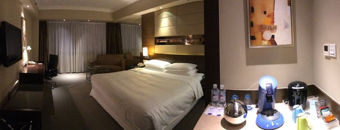 Four Points by Sheraton Beijing, Haidian Hotel and Serviced Apartments is one of Hotels.