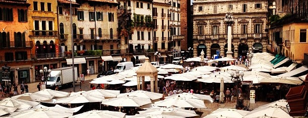 Piazza delle Erbe is one of visit again.