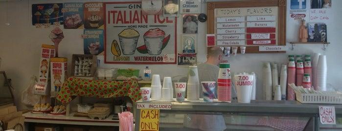Gina's Italian Ice is one of Paul : понравившиеся места.