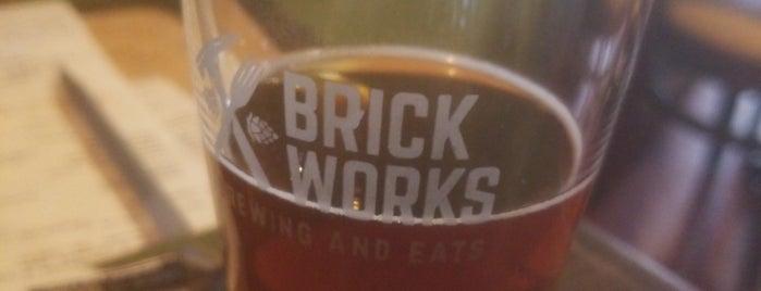 Brick Works Brewing and Eats is one of Posti salvati di Rachel.
