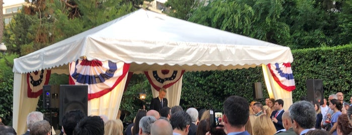 United States Ambassador's Residence is one of Greece 🇬🇷.