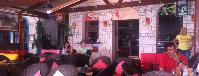Gregory's Bar is one of samos.